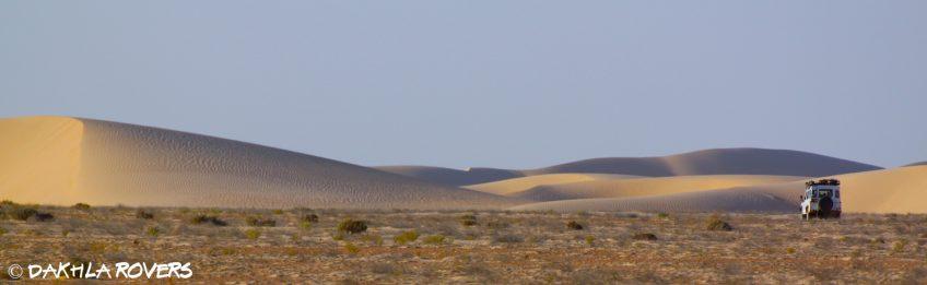 Dunes & canyons