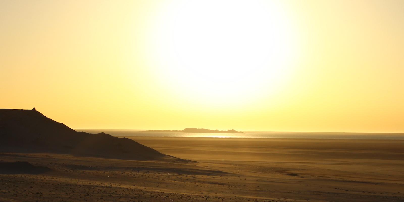 Dragon Island sunset Dakhla Rovers